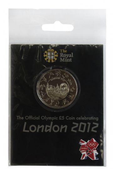 2012 £5 London 2012 Small Pack Royal Mint Brilliant Uncirculated pack